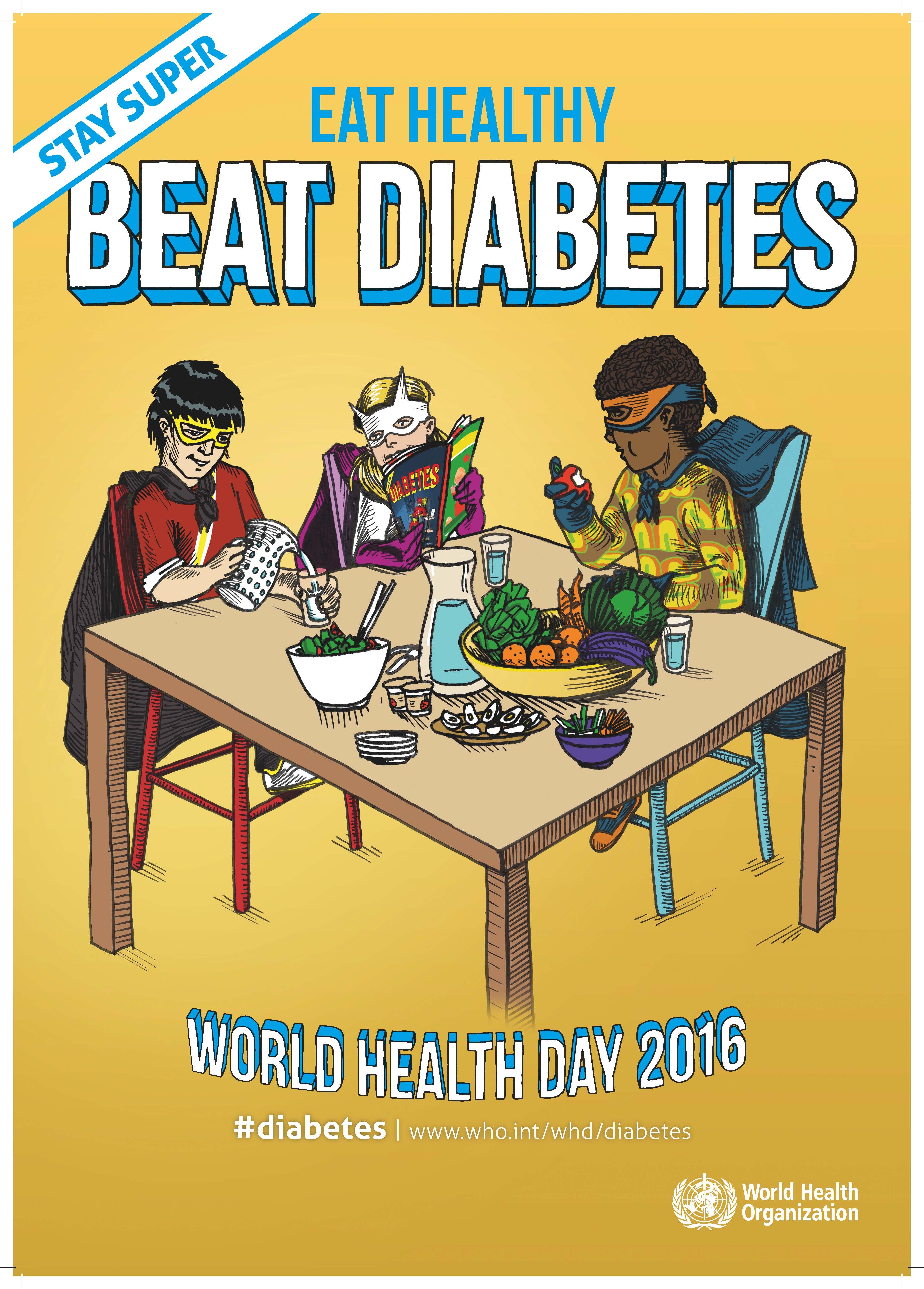 Академия Първа Помощ Световен ден на здравето –  422 млн души страдат от диабет